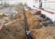 Монтаж канализации .Водопровод. Для частных домов Чебоксарах.
